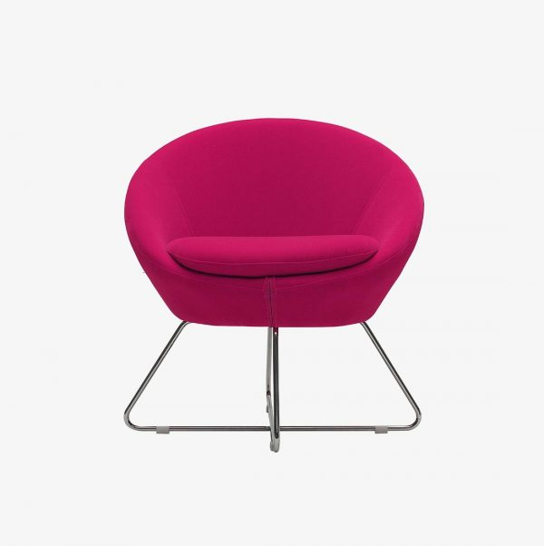s hot pink desk chair