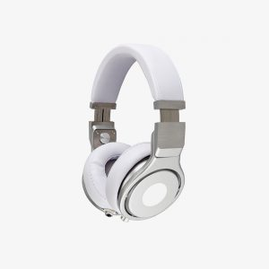 s white limited edition headphones